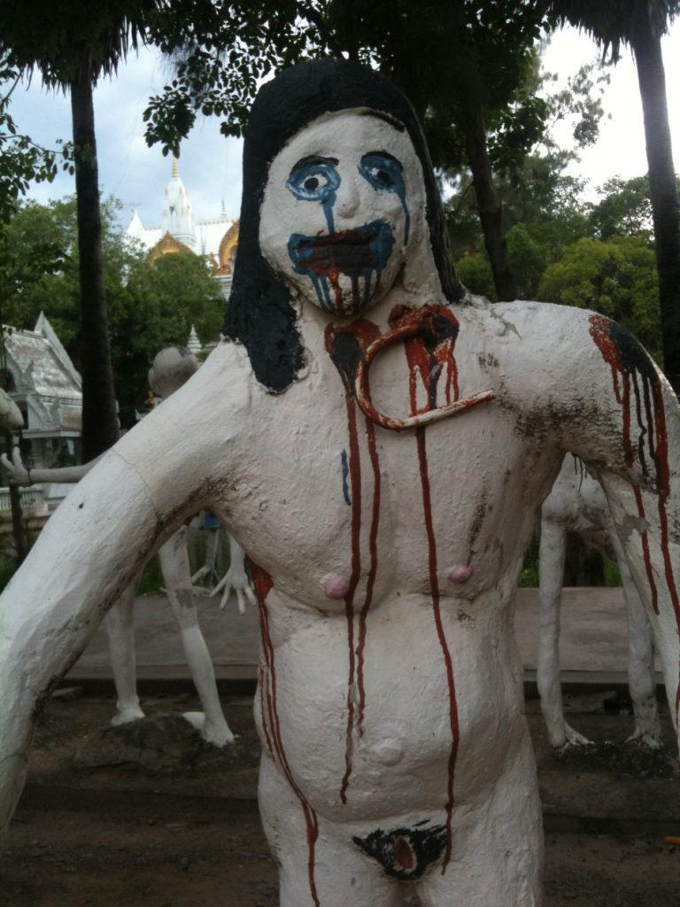 Tour-Through-Buddhist-Hell - Suphanburi-Hell-Temple-34