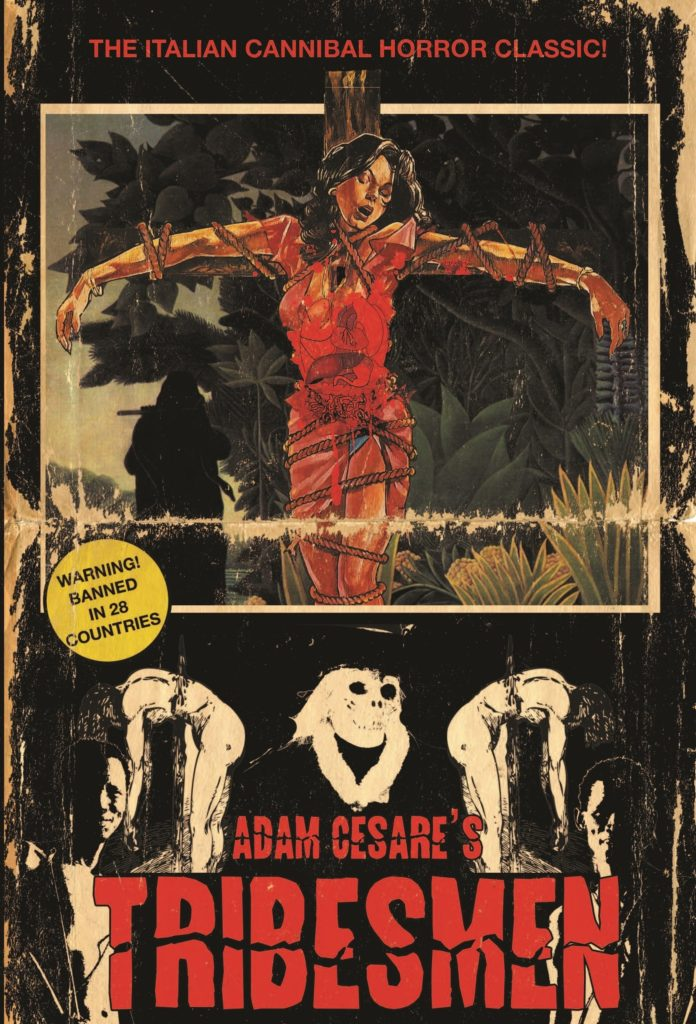 Book-Covers - Cover-Adam-Cesare-Tribesmen